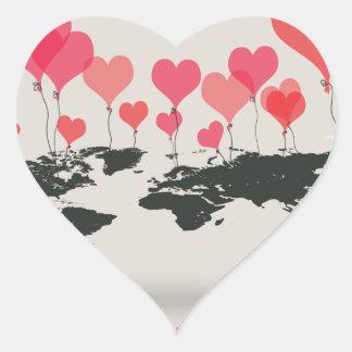 February is Heart Month - Appreciation Day Heart Sticker