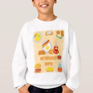 February is Hot Breakfast Month - Appreciation Day Sweatshirt