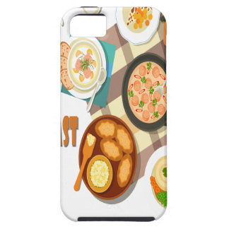 February is Hot Breakfast Month iPhone 5 Case