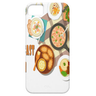 February is Hot Breakfast Month iPhone 5 Covers