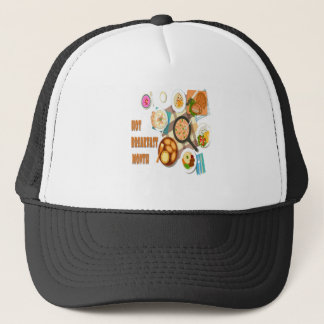 February is Hot Breakfast Month Trucker Hat