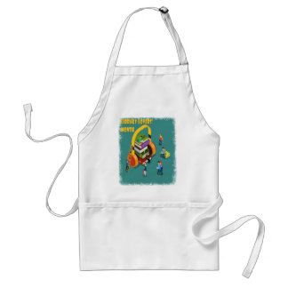 February is Library Lovers' Month Appreciation Day Standard Apron