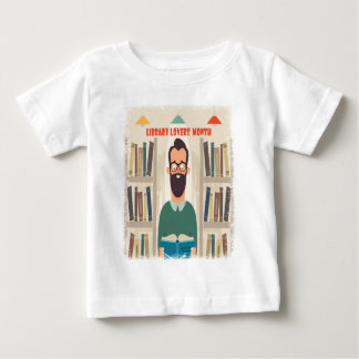 February - Library Lovers' Month Appreciation Day Baby T-Shirt