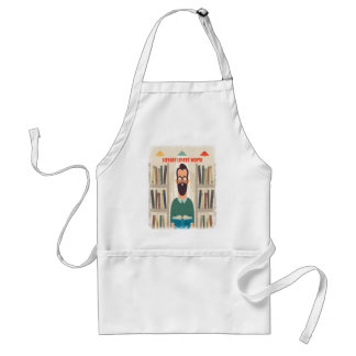 February - Library Lovers' Month Appreciation Day Standard Apron