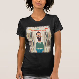 February - Library Lovers' Month Appreciation Day T-Shirt