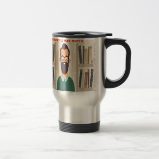 February - Library Lovers' Month Appreciation Day Travel Mug