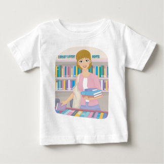 February - Library Lovers' Month Baby T-Shirt