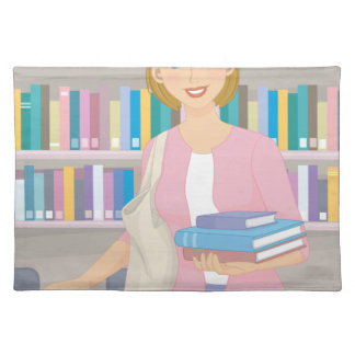 February - Library Lovers' Month Placemat