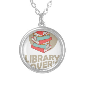 February - Library Lovers' Month Silver Plated Necklace