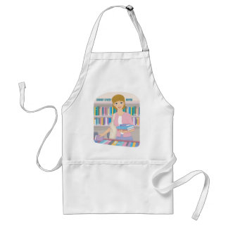February - Library Lovers' Month Standard Apron