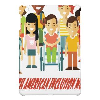 February - North American Inclusion Month iPad Mini Cover