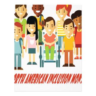 February - North American Inclusion Month Letterhead