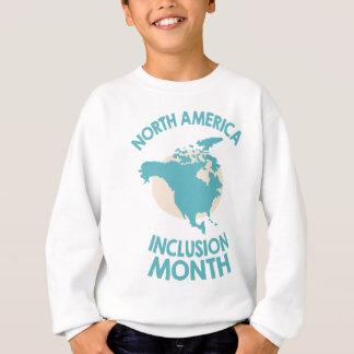 February - North American Inclusion Month Sweatshirt