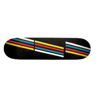 February Print 5 Skate Board