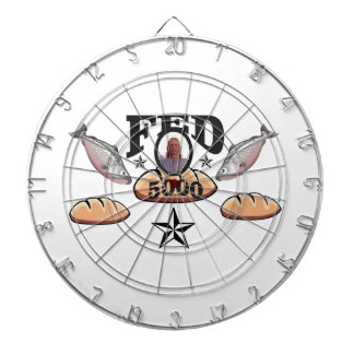 fed 5000 lord dartboard