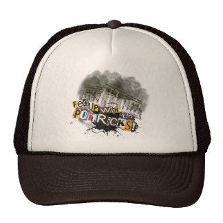 """Fed up with dem politricks!"" Trucker Hat"