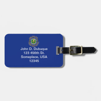 Federal Aviation Administration Shield Luggage Tag