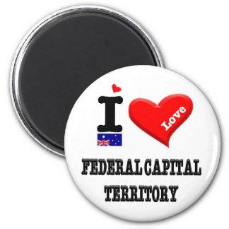 FEDERAL CAPITAL TERRITORY - I Love Magnet