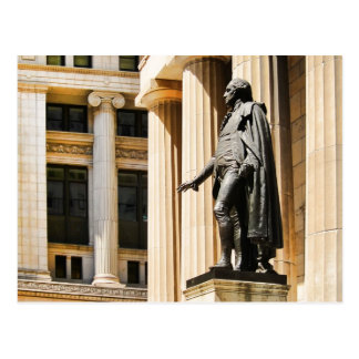 Federal Hall, NYC Postcard