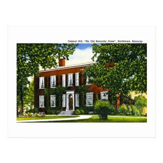 Federal Hill, Bardstown, Kentucky Postcard