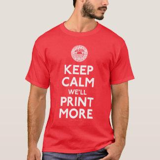 Federal Reserve Keep Calm Shirts