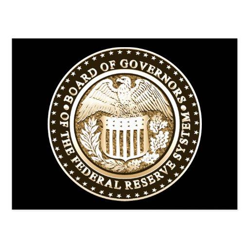 Federal Reserve Postcards