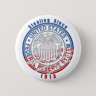 Federal Reserve System 2 Inch Round Button