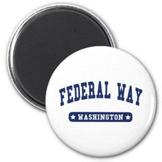 Federal Way Washington College Style tee shirts Magnet