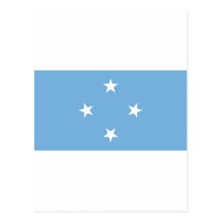 Federated States of Micronesia Flag FM Postcard