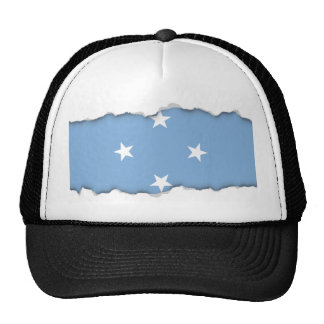 Federated StATES of Micronesia Flag Trucker Hat