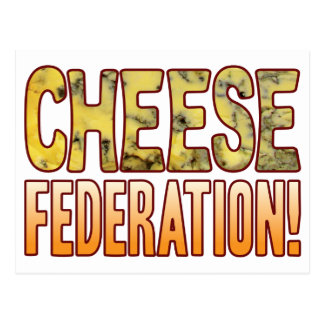 Federation Blue Cheese Postcard