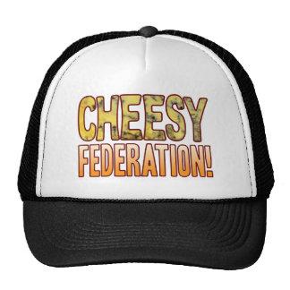 Federation Blue Cheesy Trucker Hat