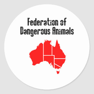 Federation of Dangerous Animals Stickers