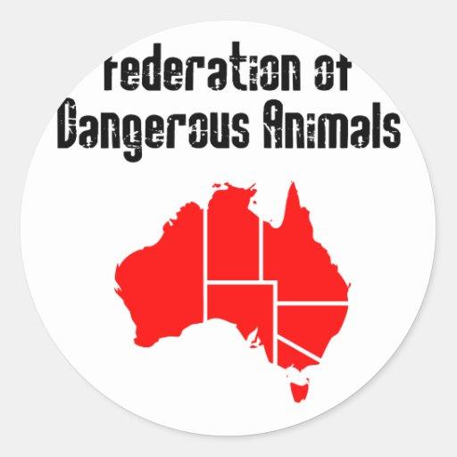 Federation of Dangerous Animals Sticker
