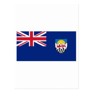 Federation of Rhodesia and Nyasaland Flag (1953-63 Post Cards