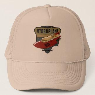 Fédération vintage d'hydroplane casquette