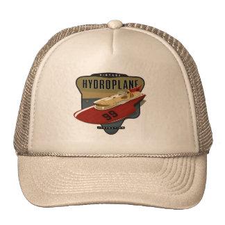 Fédération vintage d'hydroplane casquettes de camionneur