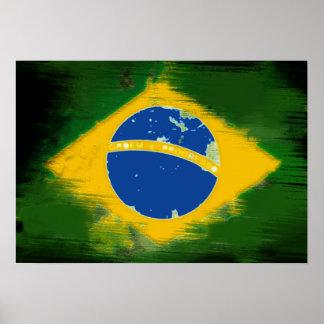 Federative Republic of Brazil flag Poster