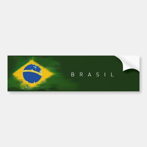 Federative Republic of Brazil to sticker Bumper Stickers