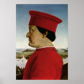 Federigo da Montefeltro  Duke of Urbino, c.1465 Poster