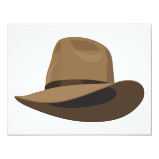 Fedora bush hat card