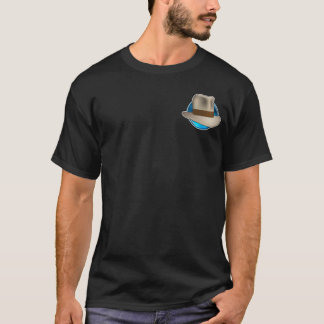 Fedora Chronicles' Big Blue logo Men's Shirt! T-Shirt