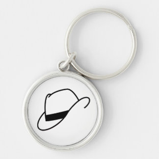 Fedora Hat Keychain