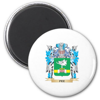 Fee Coat of Arms - Family Crest Fridge Magnets
