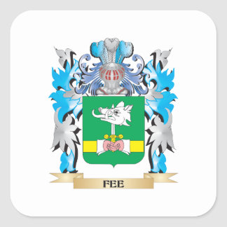 Fee Coat of Arms - Family Crest Stickers