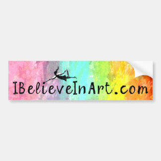 Fée d'art : IBelieveInArt.com promotionnel Autocollant De Voiture