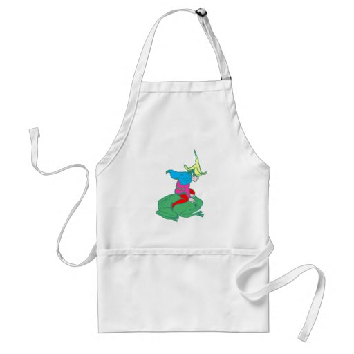 Fee fairy frog frog apron