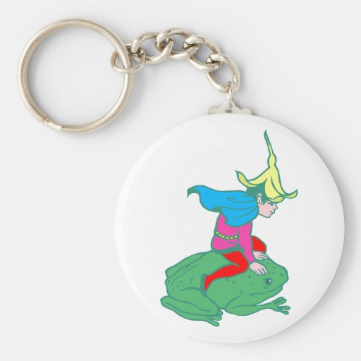Fee fairy frog frog key chains