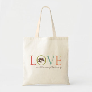 Feed a family in Kenya and feed a rescued horse! Tote Bags