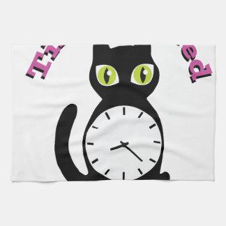 Feed Kitty Towel